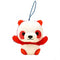 Amuse Colorful Panda Baby - Mini Strap Red