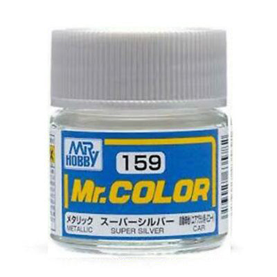 Mr. Color Paint C159 Metallic Super Silver 10ml