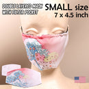 Fantastic Fam Inc Washable Face Mask - Cherry Blossom Wave - Small