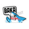 Fantastic Fam Peeking Vinyl Sticker - BAKA SHARK