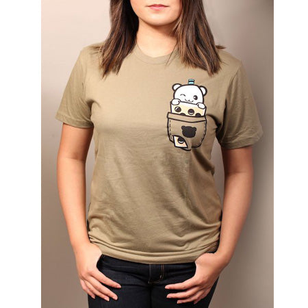 Fantastic Fam Inc Boba Pocket Design T-shirts Large