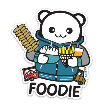 Fantastic Fam Vinyl Sticker - Foodie