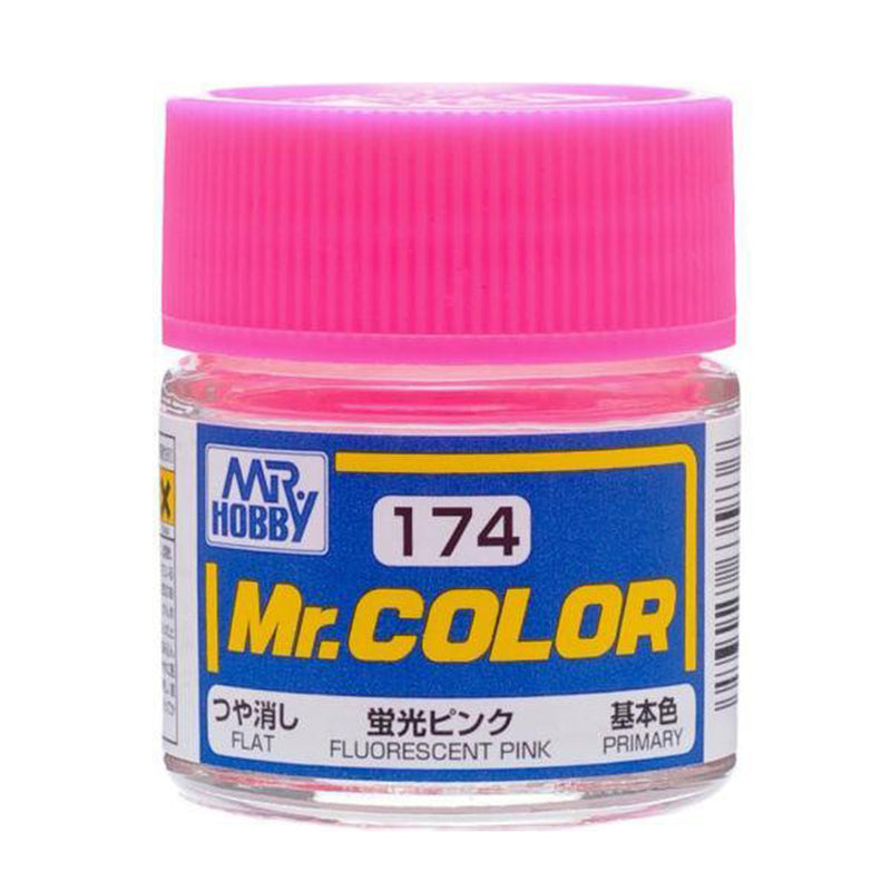 Mr. Color Paint C174 Semi Gloss Fluorescent Pink 10ml