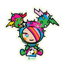 Tokidoki Sticker - Sandy Diamante
