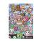 Tokidoki Notebook Hard Cover - Rainbow Friends