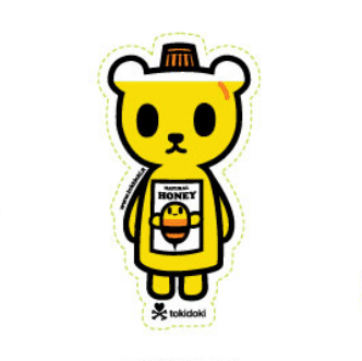 Tokidoki Sticker - Be Sweet