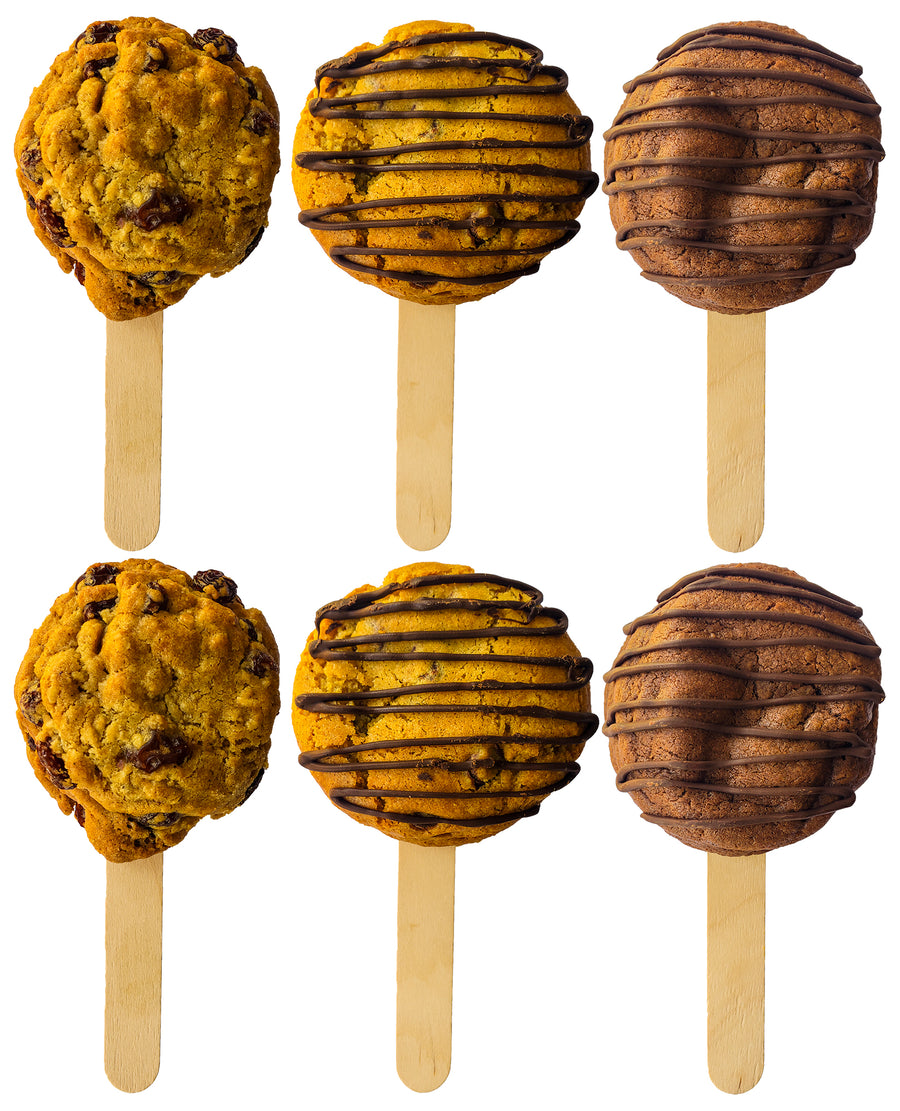 Cookie Sandwich On A Stick - Assortment 12 Pack
