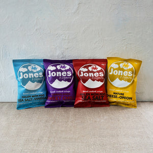 Box of Jones Crisps 26x40g