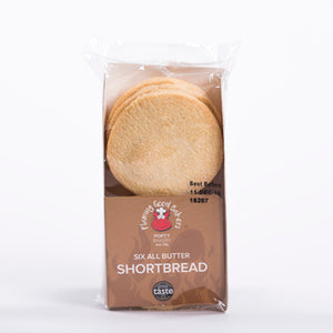 Popty Bakery 6 All Butter Shortbread
