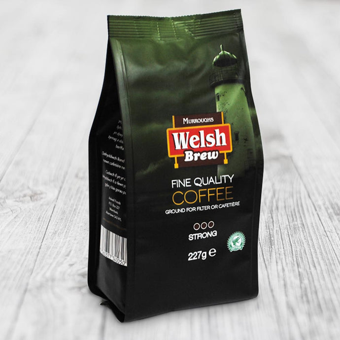 Welsh Brew Strong Ground Coffee 227g