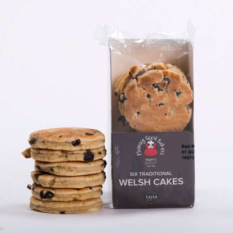 Popty Bakery 6 Traditional Welsh Cakes