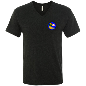 Straight Cash Triblend V-Neck T-Shirt