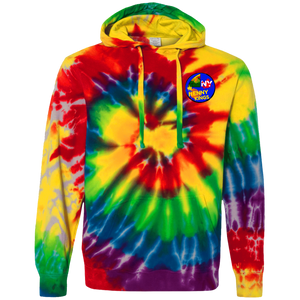 Straight Cash Tie-Dyed Pullover Hoodie
