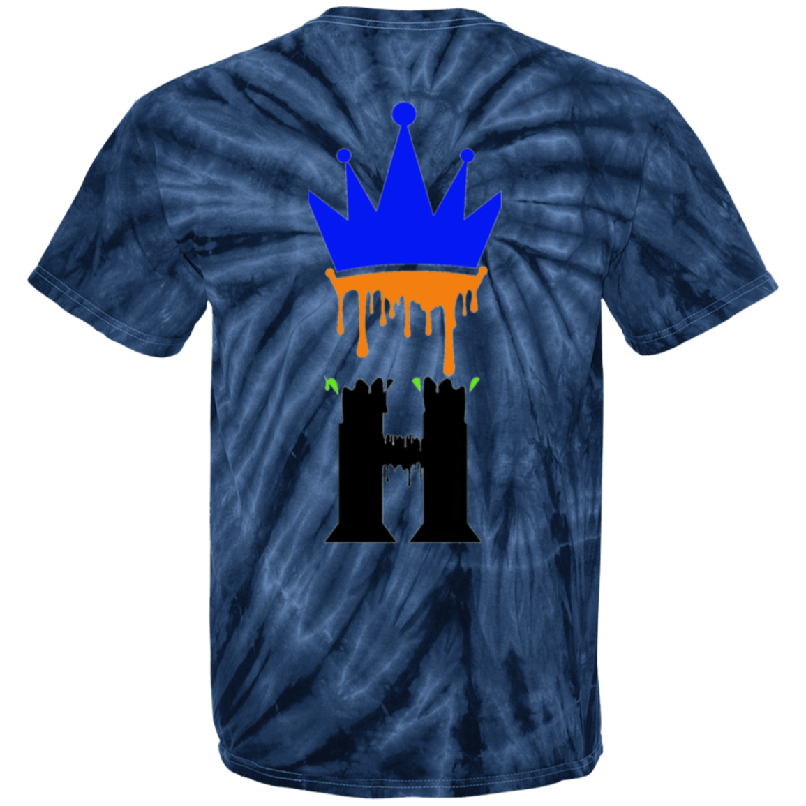 Splash Fit Tie Dye T-Shirt