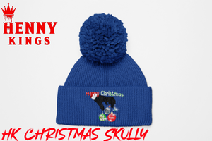 HK Christmas Fuzzy Skully - Henny Kings