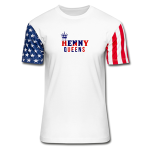 Ladies 4th Of July T-shirt - white