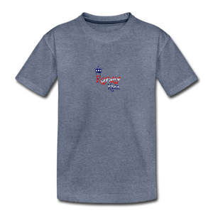 ROYALY KIDZ 4TH OF JULY TSHIRT Toddler Premium T-Shirt - heather blue