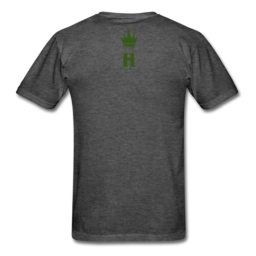 Henny Kings Glow In The Dark T-Shirt - heather black