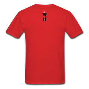Henny Kings Off White T-Shirt - red