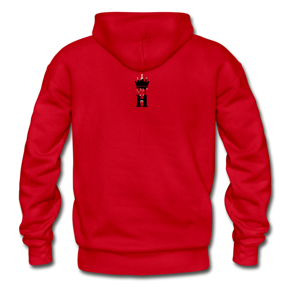Henny Kings Off White Adult Hoodie - red