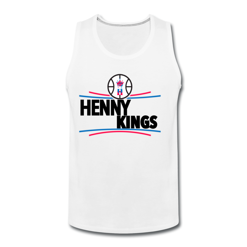 Henny Kings Clip Tank Top - white