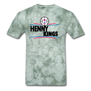 Henny Kings Clip T-Shirt - military green tie dye