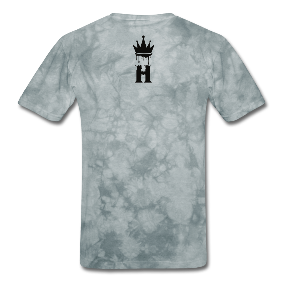 Henny Kings Clip T-Shirt - grey tie dye