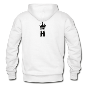 Henny Kings Clip Adult Hoodie - white