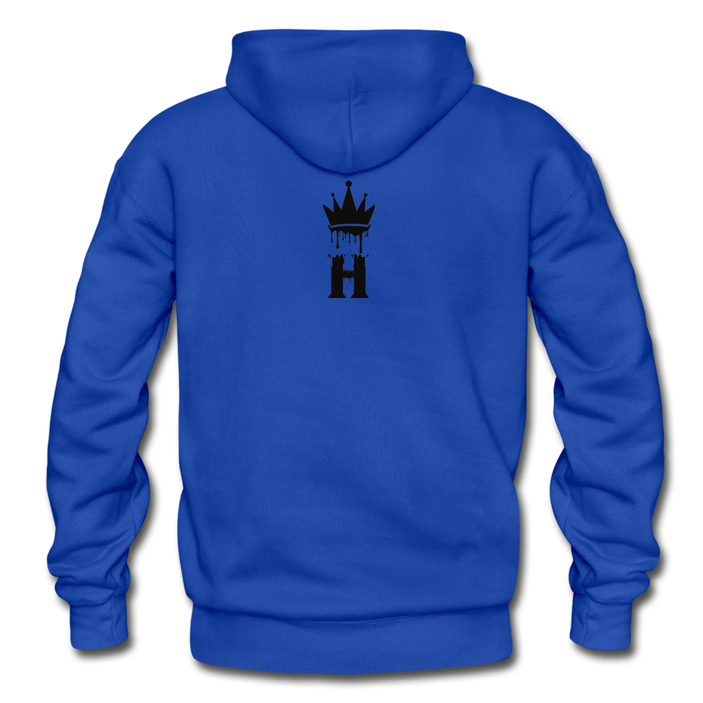Henny Kings Clip Adult Hoodie - royal blue