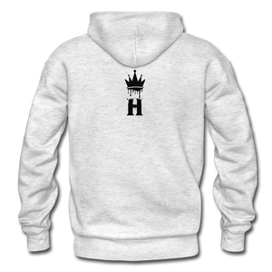 Henny Kings Clip Adult Hoodie - light heather gray