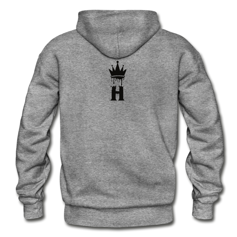 Henny Kings Clip Adult Hoodie - graphite heather