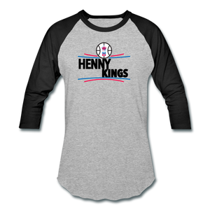 Henny Kings Clips Mid T-Shirt - heather gray/black