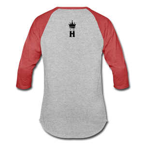 Henny Kings Clips Mid T-Shirt - heather gray/red
