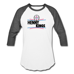 Henny Kings Clips Mid T-Shirt - white/charcoal