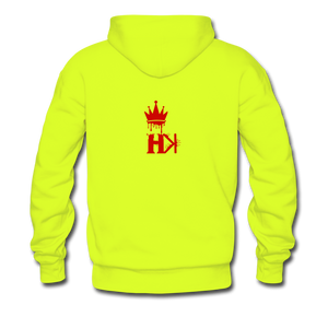 HKB Rockets Hoodie - safety green