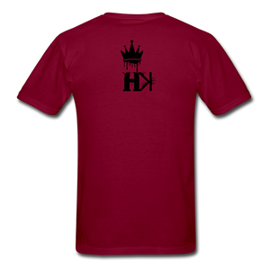 HKB Brooklyn T-shirt - burgundy