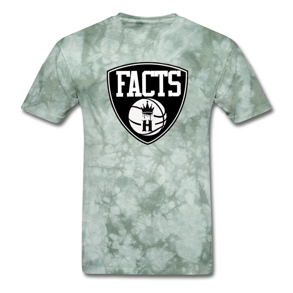 HKB Brooklyn T-shirt - military green tie dye