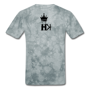 HKB Brooklyn T-shirt - grey tie dye