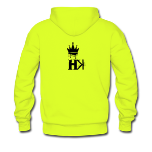 HKB Brooklyn Hoodie - safety green