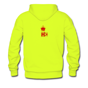 HKB Pistons Hoodie - safety green