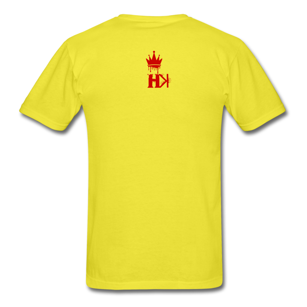 HKB Pistons T-Shirt - yellow