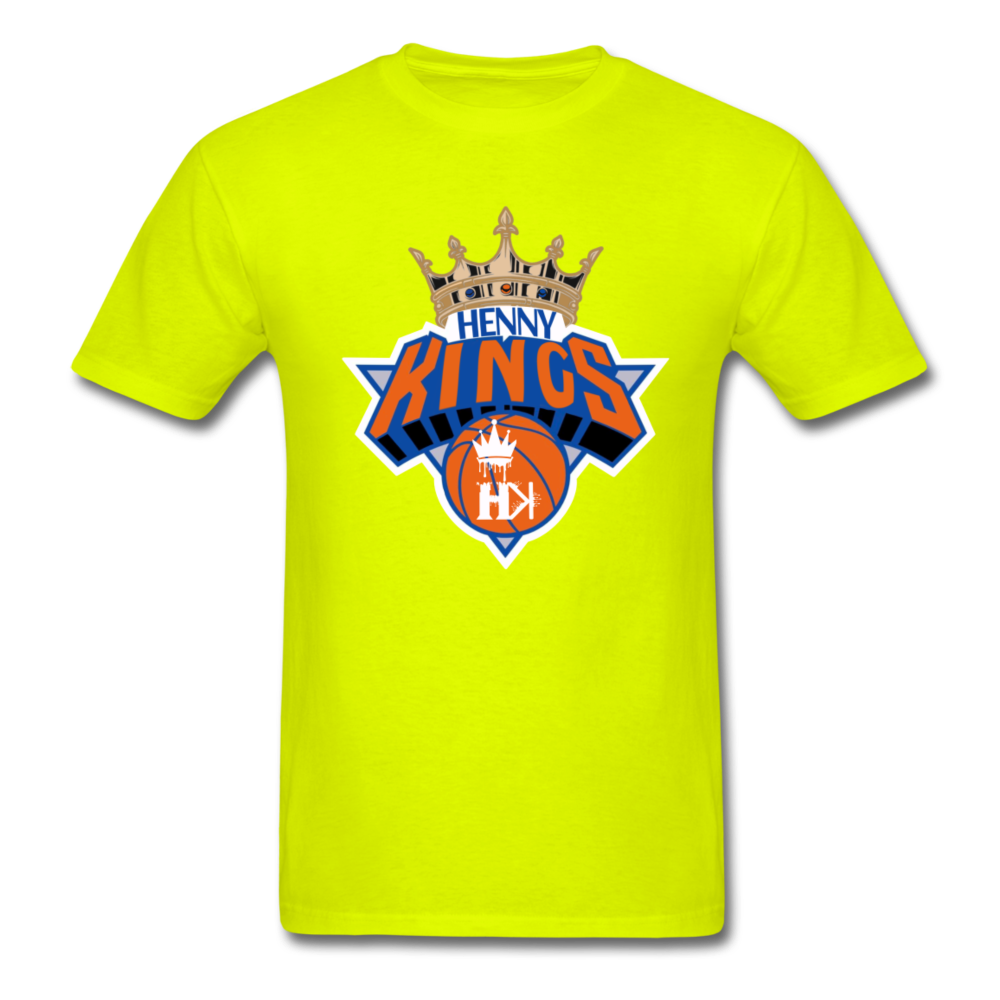 HKB Knicks T-Shirt - safety green