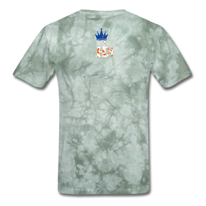 HKB Knicks T-Shirt - military green tie dye