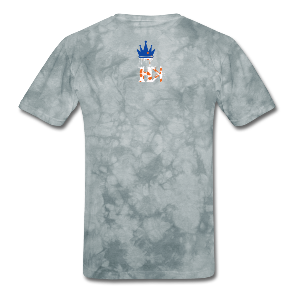 HKB Knicks T-Shirt - grey tie dye
