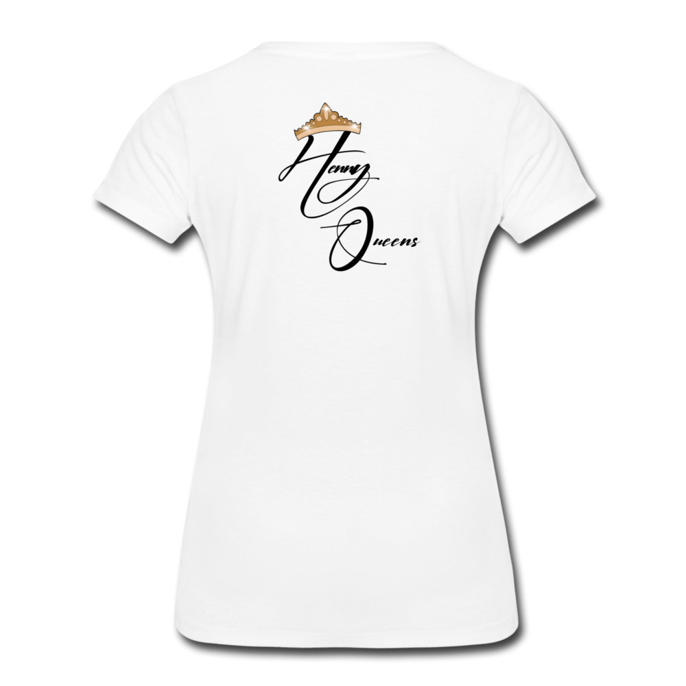 Henny Queens Pandora Women's T-Shirt - white