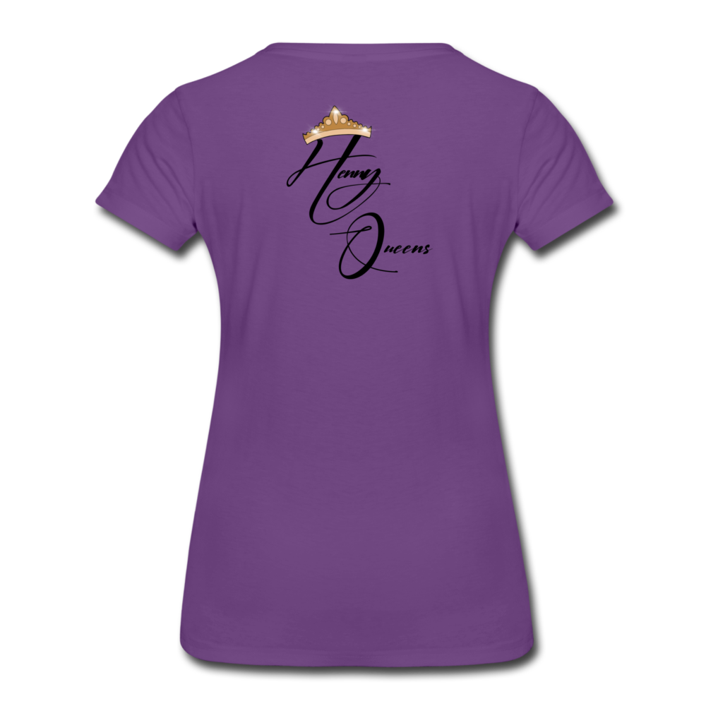 Henny Queens Pandora Women's T-Shirt - purple