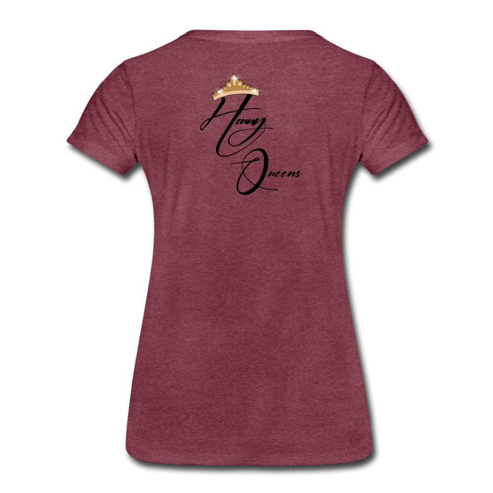 Henny Queens Pandora Women's T-Shirt - heather burgundy