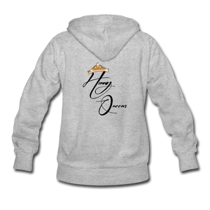 Henny Queens VS Women's Hoodie - heather gray