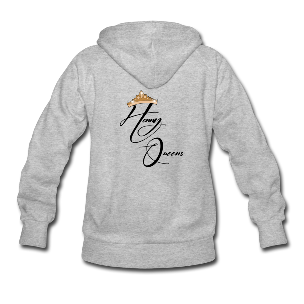 Henny Queens Pandora Women's Hoodie - heather gray