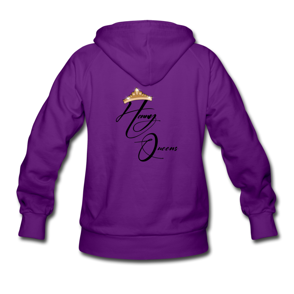 Henny Queens Pandora Women's Hoodie - purple